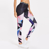 Tropical Print Sports Bra And Leggings Women Fitness Sets